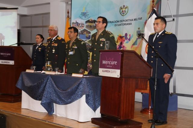 Comissão do Exército junto ao Conseil International du Sport Militaire participa do Encontro Continental das Américas