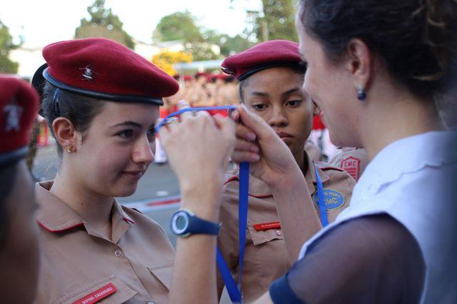 """""""Tubarões de Matemática"""", esse é o título que alunos do Colégio Militar de Curitiba receberam em Recife."""