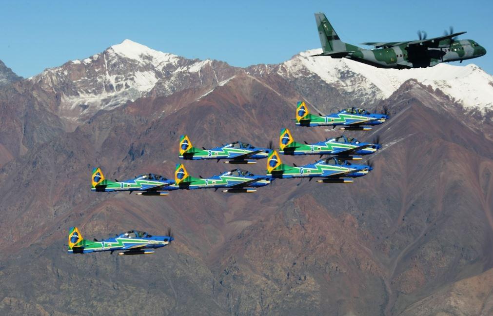 FAB participa da 20ª Feira Internacional do Ar e do Espaço no Chile