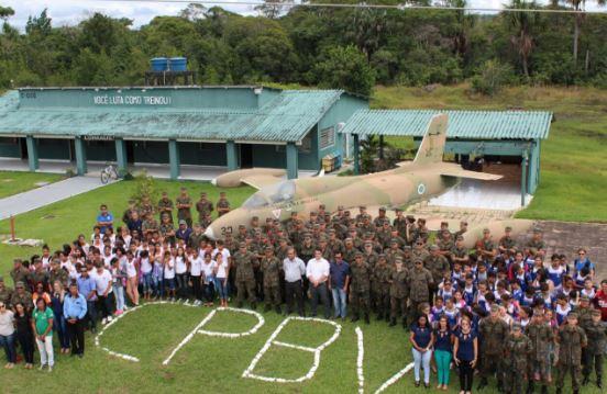 Programa Forças no Esporte é inaugurado no Campo de Provas Brigadeiro Velloso (CPBV)