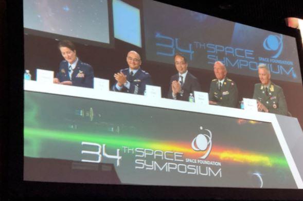 Vice-presidente da CCISE participa de simpósio espacial nos EUA