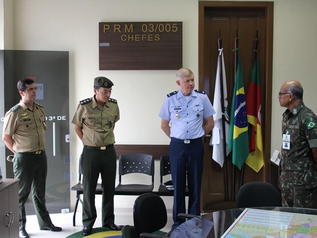 VISITA DE ORIENTAÇÃO TÉCNICA DE SERVIÇO MILITAR E PROJETO SOLDADO CIDADÃO DA SUBCHEFIA DE MOBILIZAÇÃO DO MINISTÉRIO DA DEFESA.