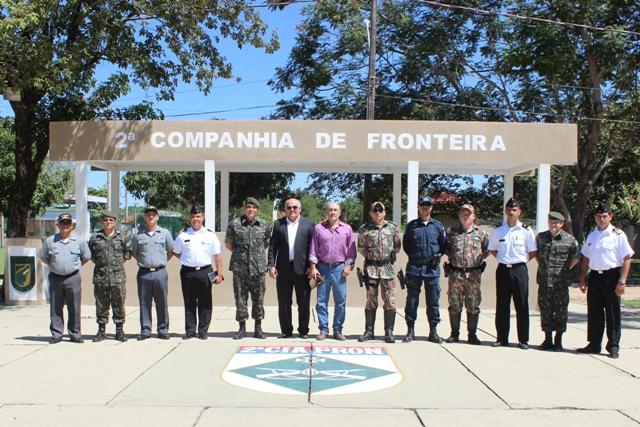 Reunião entre o Brasil e o Paraguai