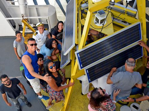 """Navio Oceanográfico """"Antares"""" visita Salvador"""