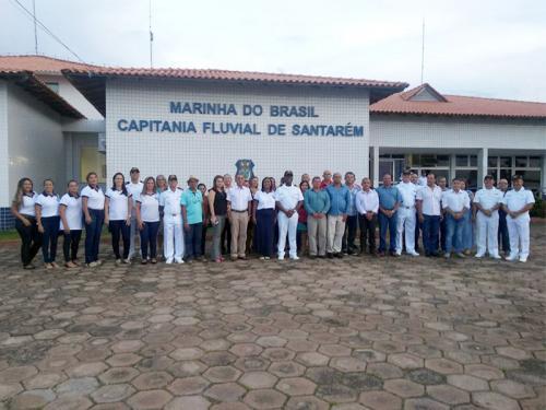 Departamento Voluntárias Cisne Branco Seccional Belém, residente em Santarém, promove encontro de Veteranos