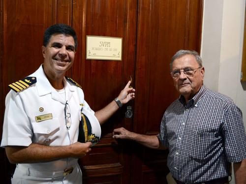 Veteranos e pensionistas da Marinha recebem melhorias no atendimento na sede social do Clube Naval no Rio de Janeiro
