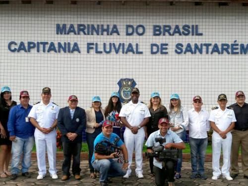 """Capitania Fluvial de Santarém comemora """"Dia do Jornalista"""""""