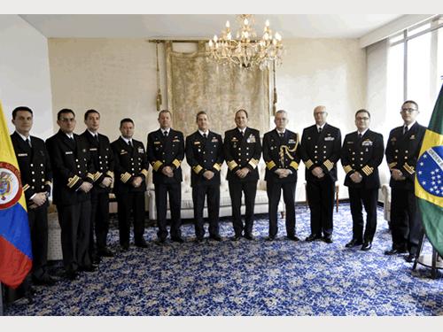 Marinha do Brasil participa da II Reunião de Estados-Maiores