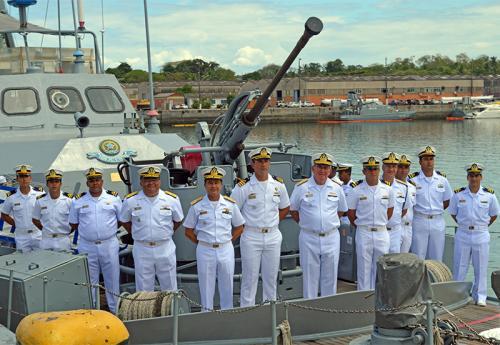 Comandante da Marinha visita o 2º Distrito Naval