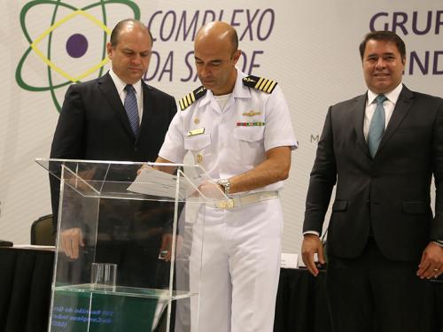 Laboratório Farmacêutico da Marinha e o Ministério da Saúde assinam Termo de Compromisso