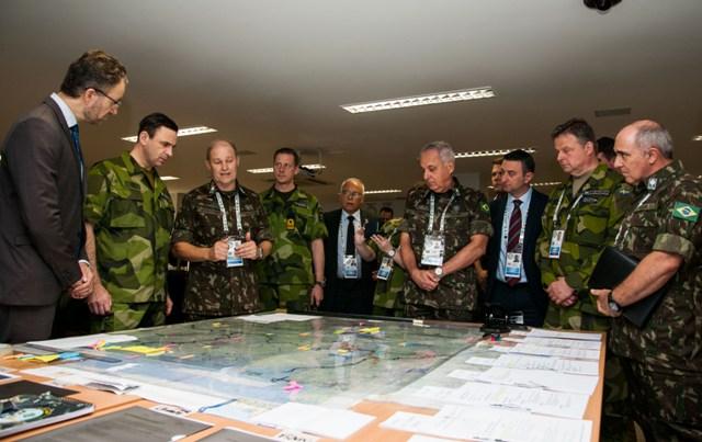 Brasil é 1º país fora da Europa a sediar Exercício, estreitando relações com as Forças Armadas da Suécia