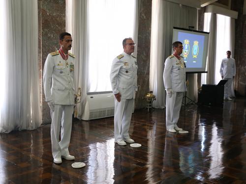 Centro Tecnológico da Marinha no Rio de Janeiro realiza transmissão do cargo de Diretor