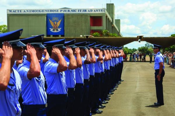 Cadetes da Academia da Força Aérea compartilham histórias de superação