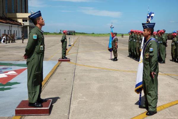Ala 12 realiza cerimônia de incorporação dos Esquadrões Orungan e Pioneiro