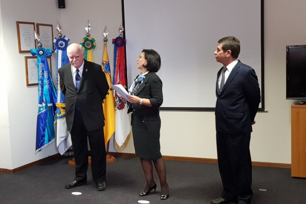 Oficial-General da FAB assume Conselho Militar da Missão Permanente do Brasil na ONU