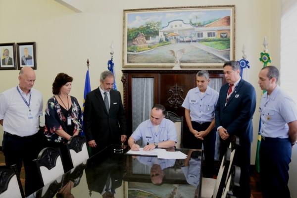 UNIFA assina convênio com SESI e EEAR reinicia atividades do Programa Forças no Esporte