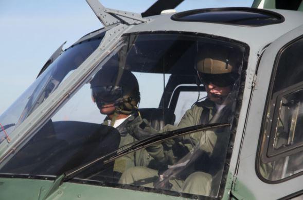 Na Ala 10, aspirantes iniciam prática em aviações específicas
