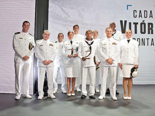 Atletas da Marinha do Brasil conquistam troféus no 19º Prêmio Brasil Olímpico