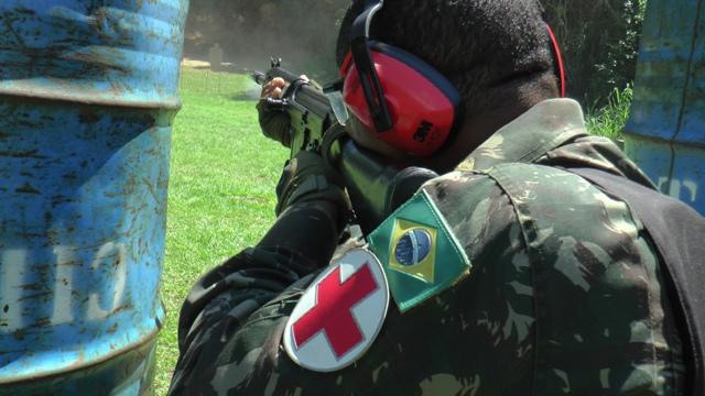 1º Curso de Saúde Operacional capacita militares para a atuação em operações no Brasil e no exterior.