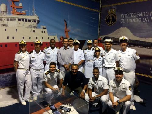 Marinha do Brasil participa da Volvo Ocean Race 2018