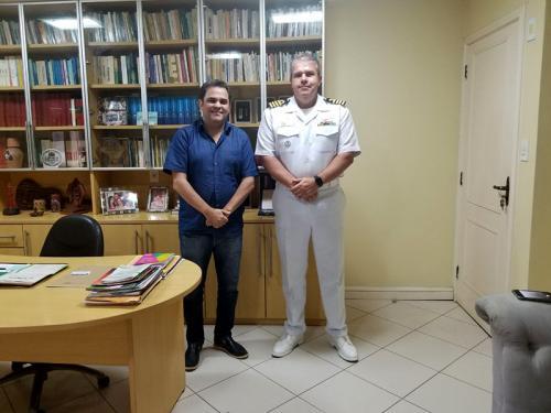 Capitão dos Portos da Amazônia Oriental realiza visita protocolar a Deputado Federal