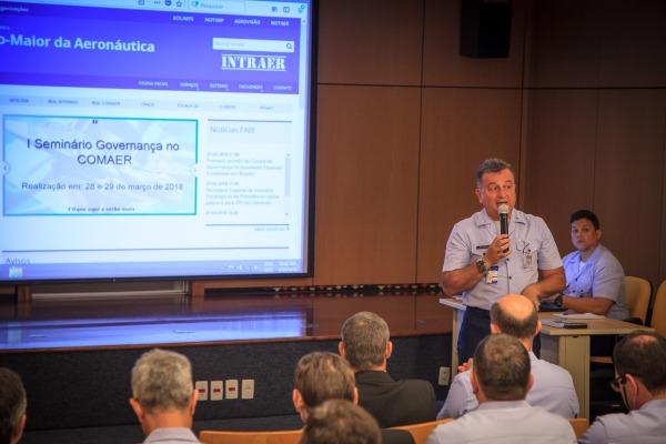 EMAER realiza I Seminário de Governança no Comando da Aeronáutica