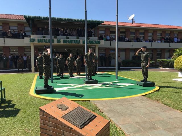 Passagem de Comando da Brigada Guarani