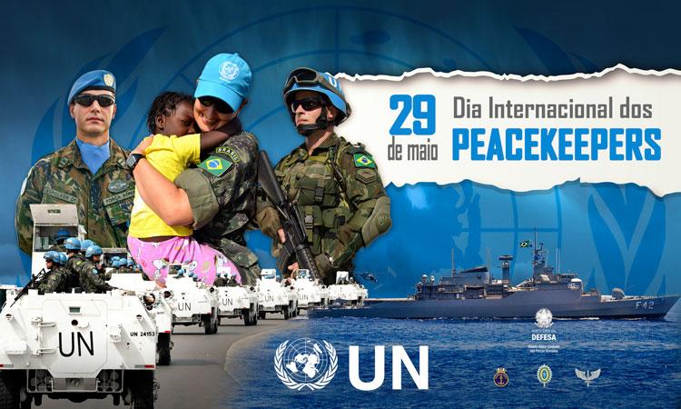 29 de maio, Dia Internacional dos Peacekeepers das Nações Unidas