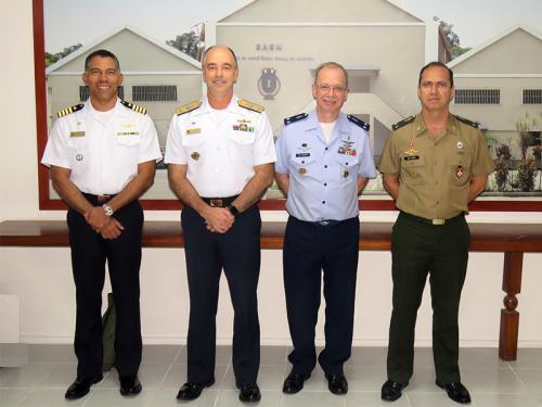 Comissão de Assistência Social das Forças Armadas realiza visita institucional ao Serviço de Assistência Social da Marinha