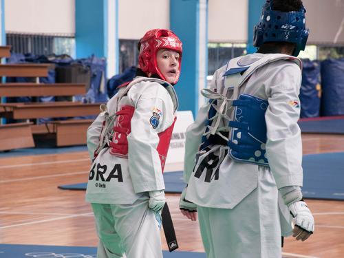 Centro de Educação Física Almirante Adalberto Nunes recebe a seletiva militar de Taekwondo