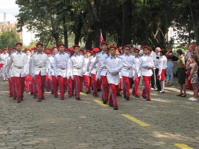 Cerimônia dos 129 anos do Colégio Militar do Rio de Janeiro