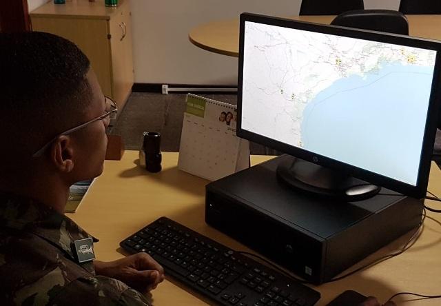 Meios tecnológicos permitem que missão logística de suprir seja feita com eficiência, eficácia e segurança