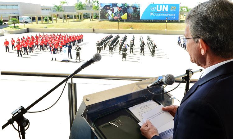 Dia Internacional dos Peacekeepers é comemorado em Brasília