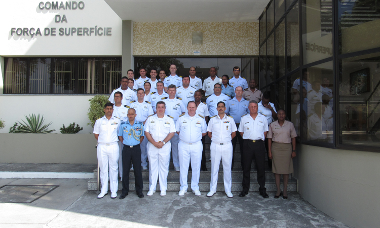 """""""Operação Ibsamar VI"""" reunirá militares das Marinhas da África do Sul, do Brasil e da Índia"""