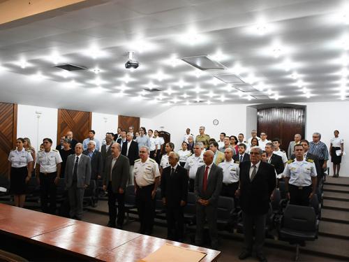 Diretoria de Hidrografia e Navegação comemora os 130 anos de meteorologia na Marinha
