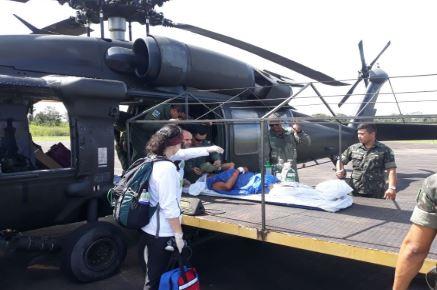 Aeronaves da FAB transportam indígenas para atendimentos no interior do Amazonas