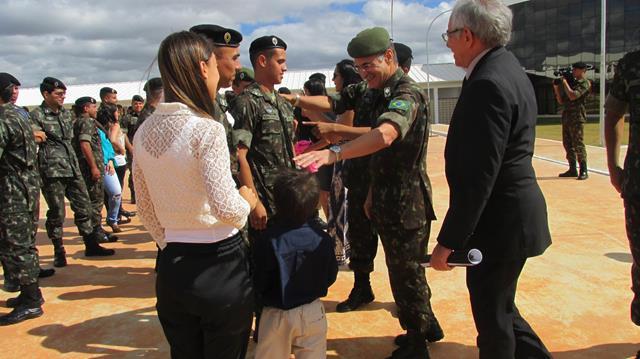 Solenidade de encerramento do Curso de Operação de Mísseis e Foguetes para Sargentos