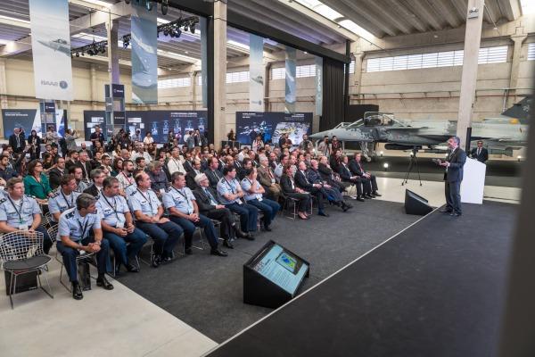 Futura fábrica de aeroestruturas do Gripen NG é apresentada à FAB