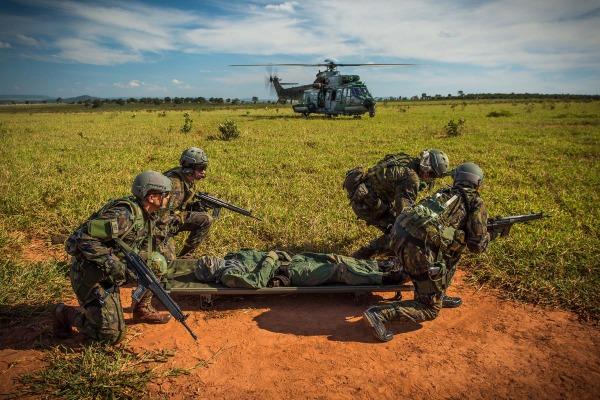 Com mais de mil horas de voo, termina treinamento que reuniu mais de 700 militares