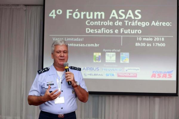 DECEA participa do 4º Fórum Asas e discute o futuro do controle de tráfego aéreo