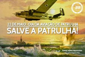 FAB lança página especial para comemorar o Dia da Aviação de Patrulha