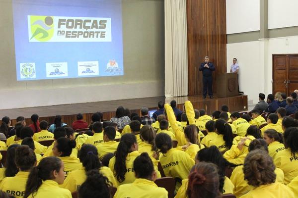 Ala 4 e Prefeitura de Santa Maria assinam convênio para o Programa Forças no Esporte