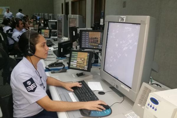 Força Aérea transmite mensagem de incentivo para a Seleção Brasileira em voo