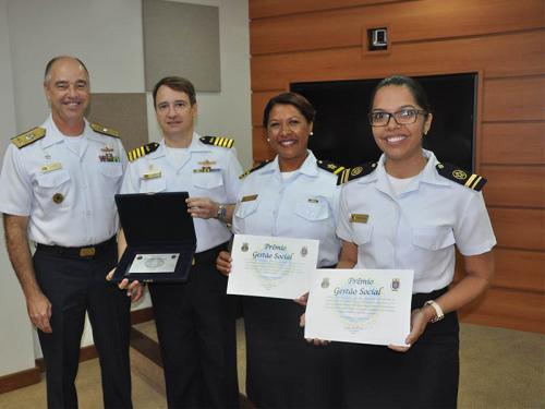 Diretoria de Assistência Social da Marinha realiza entrega do Prêmio Gestão Social