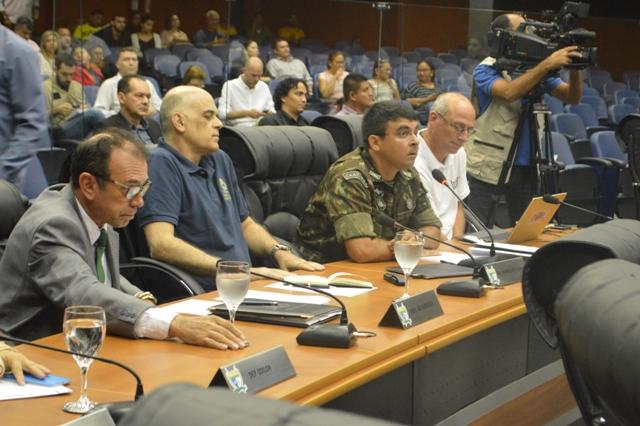 Audiência Pública para tratar sobre os reflexos do aumento do fluxo migratório no estado de Roraima