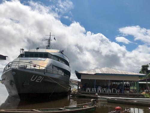 Marinha do Brasil apoia projeto oftalmológico no interior do Amazonas