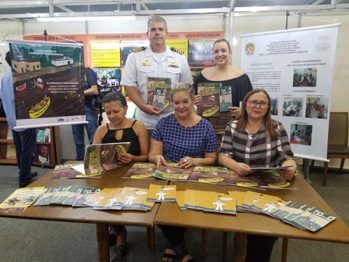 Capitania dos Portos da Amazônia Oriental participa da 22ª Feira Pan-Amazônica do Livro