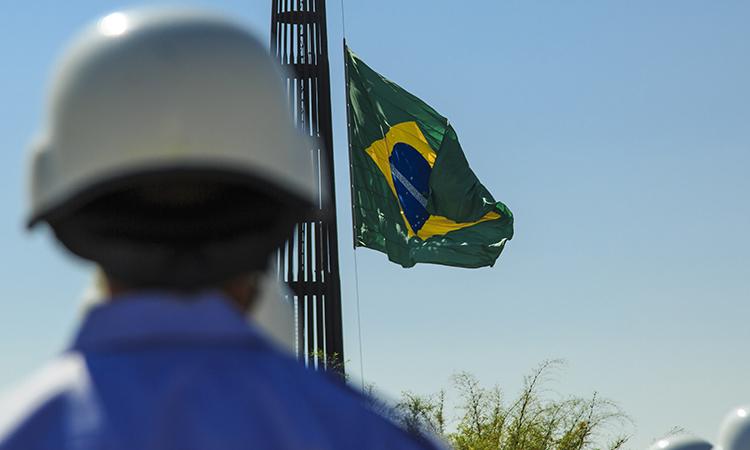 Aeronáutica realizará a Substituição da Bandeira Nacional na Praça dos Três Poderes