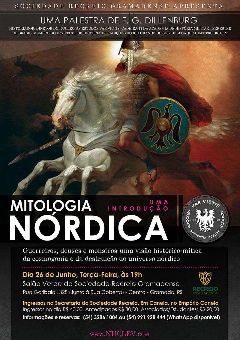 Uma palestra de F. G. Dillenburg: Uma introdução à Mitologia Nórdica