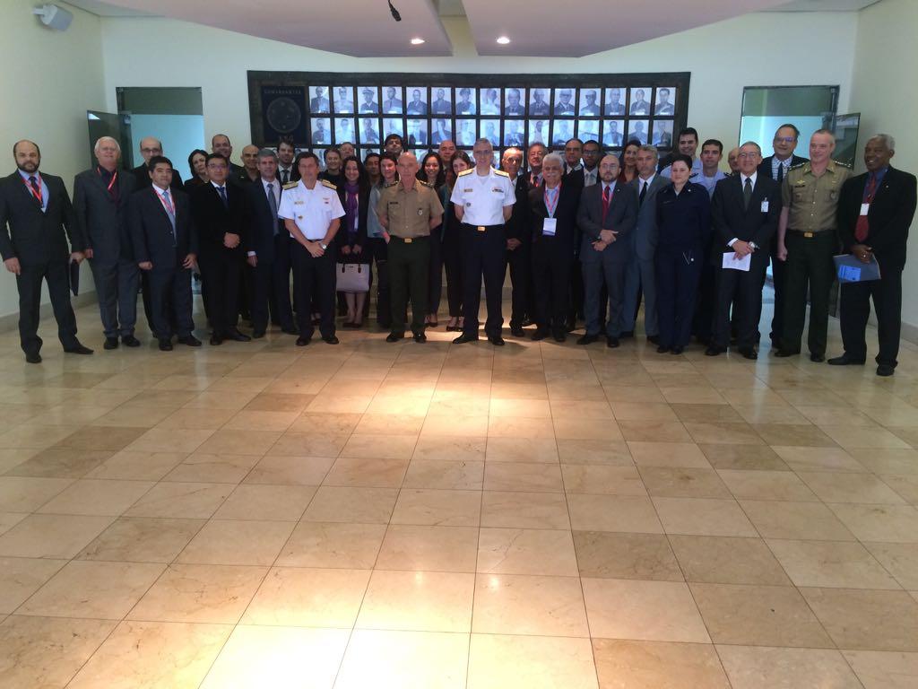 CGERD 2018 visita à sede da ESG no Rio de Janeiro